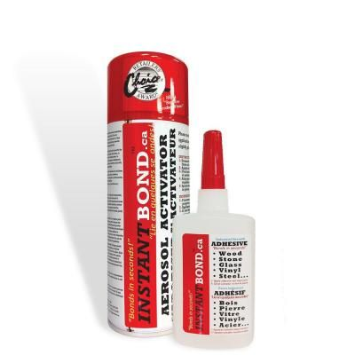 World's Fastest Instant Adhesive Glue - Clear - Cyanoacrylate Glue and Activator Spray - 50/200 ml