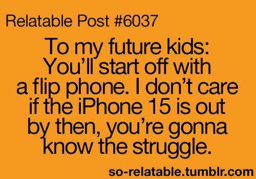 Hahaha true story!