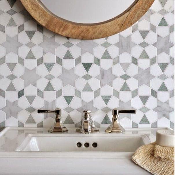 les 25 meilleures id es de la cat gorie carrelage marocain sur pinterest salle de bains. Black Bedroom Furniture Sets. Home Design Ideas