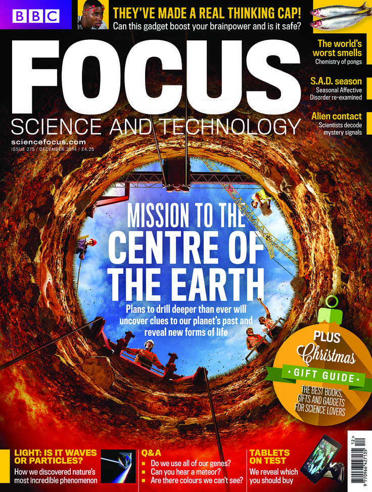 The December issue of BBC Focus Magazine is on sale now! How scientists are going deeper into the Earth than before, and hunting for subterranean life www.sciencefocus.com