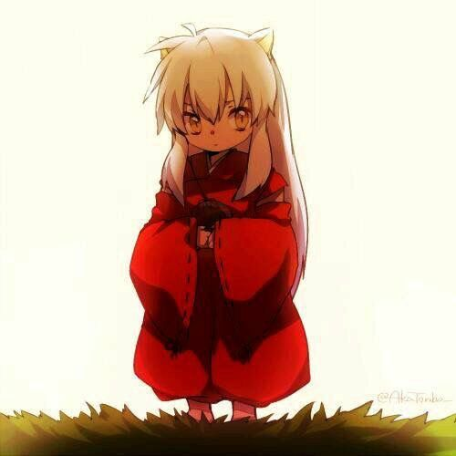 Inuyasha simplemente adorable <3
