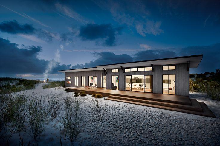 Modular Beach House - Mazer Visual