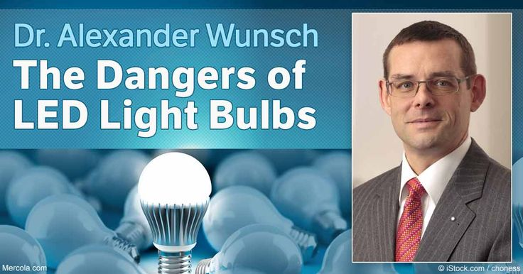 In this interview, Dr. Wunsch, a world class expert on photobiology, shares the hidden dangers of LED lighting that most people are completely unaware of. http://articles.mercola.com/sites/articles/archive/2016/10/23/near-infrared-led-lighting.aspx