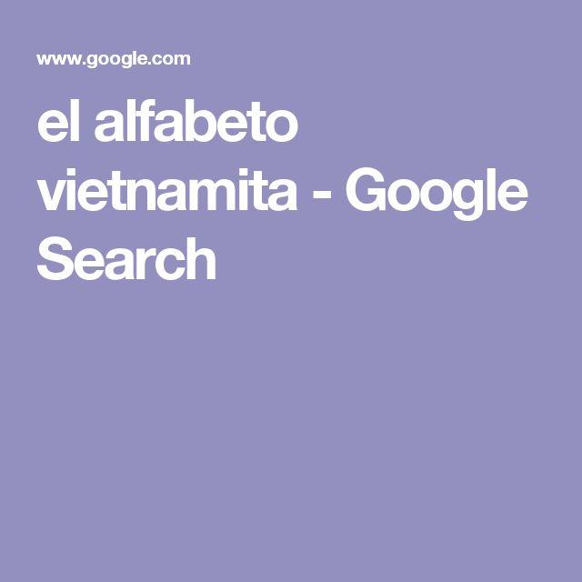 el alfabeto vietnamita - Google Search