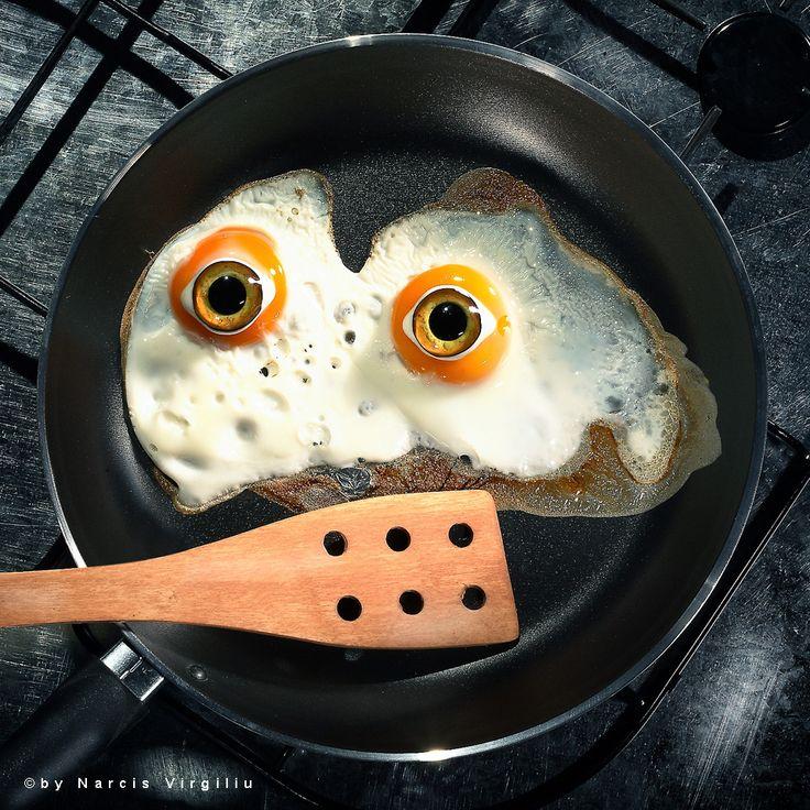 Bizarre Still Life – Fried Eggs © Photography by Narcis Virgiliu www.narcisvirgiliu.ro