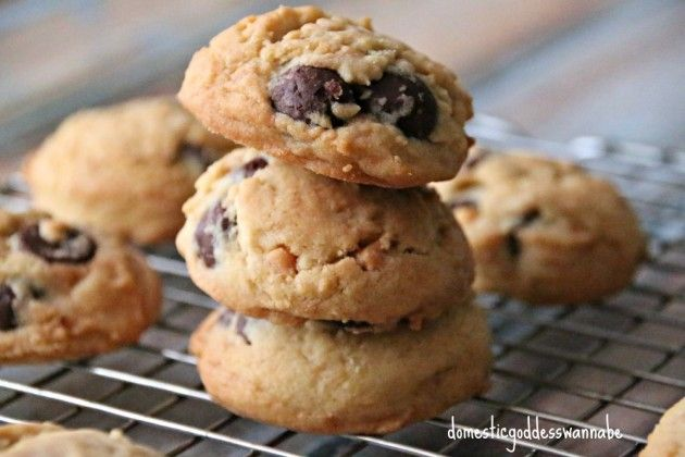 Soft-Baked Chocolate And Butterscotch Chips Cookies