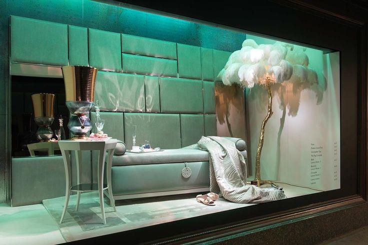 Spotted at Harrod's! #christopherguy #avax #avaxdeco #luxurysofas #interiordesign #harrods #london