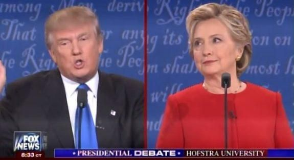 Hofstra Debate=> Trump: I Will Release My Emails When She Releases Her 33,000 Deleted Emails (VIDEO)