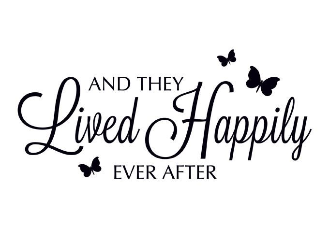 happily ever after clipart and they lived happily ever