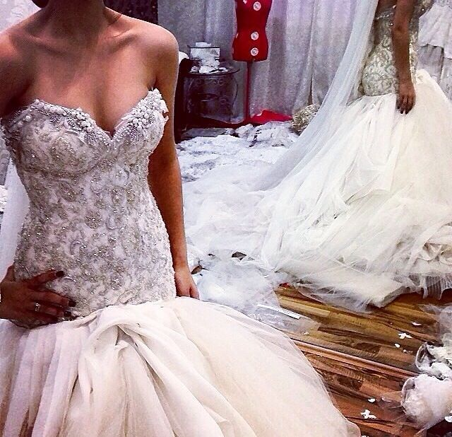 76 best images about Wedding dress on Pinterest | Tulle wedding ...