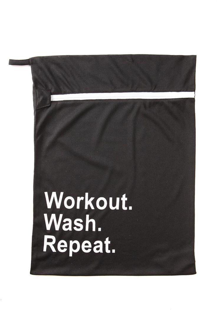 Health Goth // Cotton On / Active Wash Bag