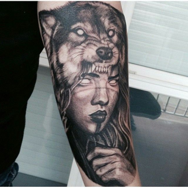Tattoos Wolf Tattoos Headdress Tattoo: Inkedmag's Photo On Instagram