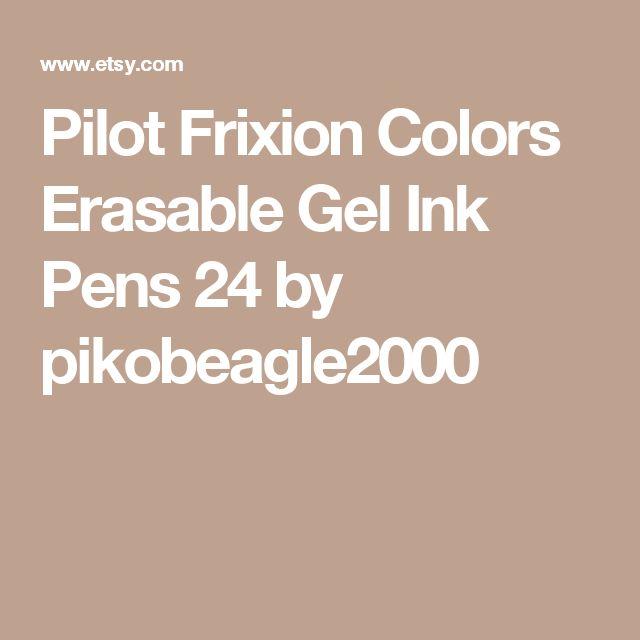 Pilot Frixion Colors Erasable Gel Ink Pens   24 by pikobeagle2000