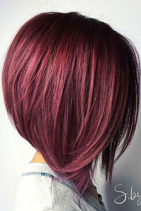 20 Lange Bob Frisuren Für Dickes Haar Hair Pinterest Hair