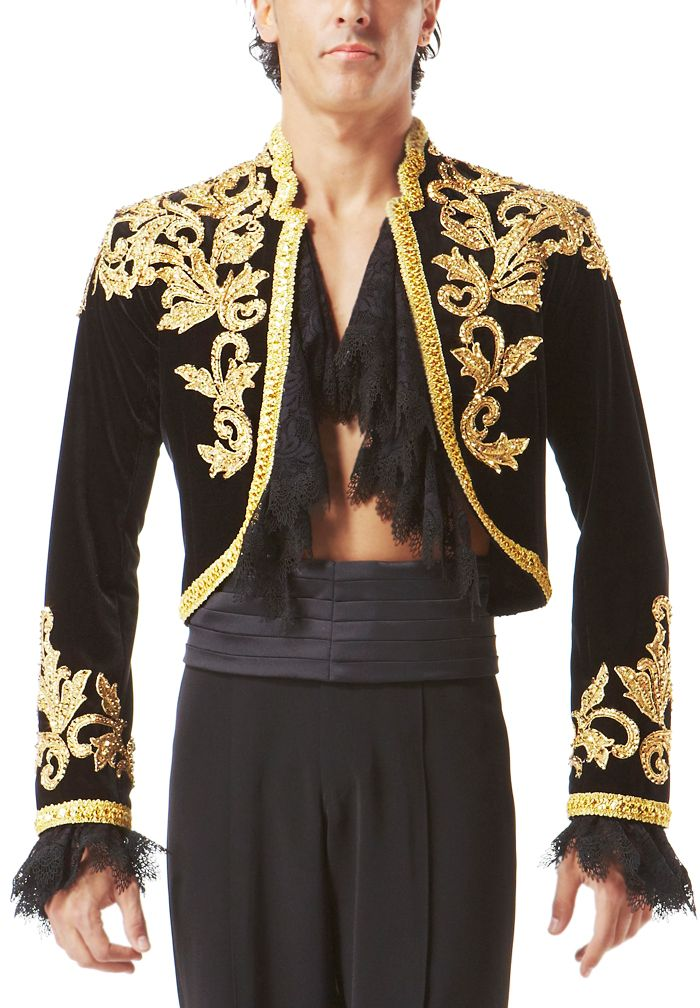 Taka Mens Paso Dance Jacket MJ02| Dancesport Fashion @ DanceShopper.com