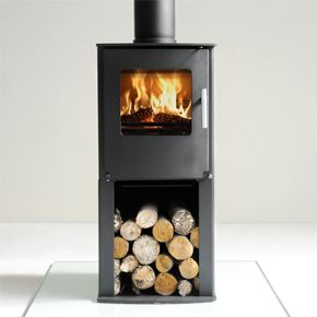 Westfire Series One Pedestal - The Westfire Series One Pedestal has a raised fire chamber and incorporates state-of-the art clean combustion system, that gives optimum stove heating performance for a compact stove. The Series One is available in two styles, either as a traditional stove or as more contemporary slim pedestal model. Both models are designed for functionality and usability.