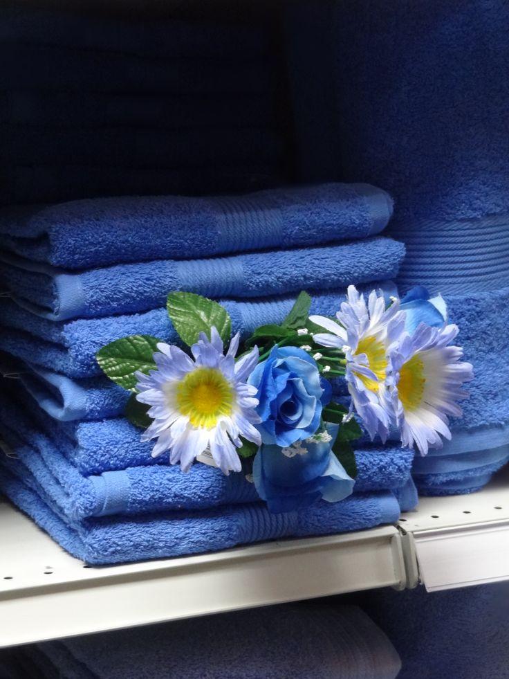 Blue Towels