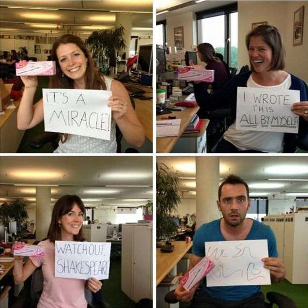 Innocent Drinks staff are trolling BIC 'For Her' pens and it's GREAT
