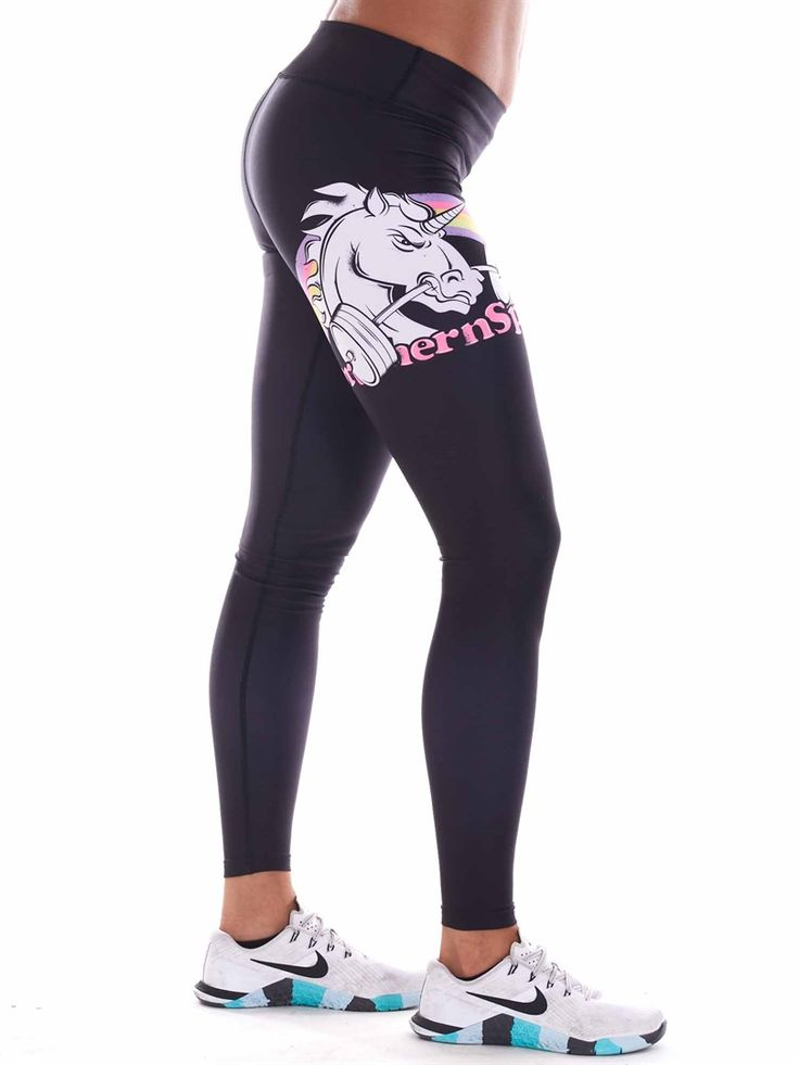 Northern Spirit Webshop - Tights Black Unicorn (BEAUTY)