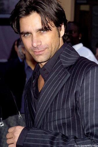 John Stamos...still makes me giggle like a school girl.