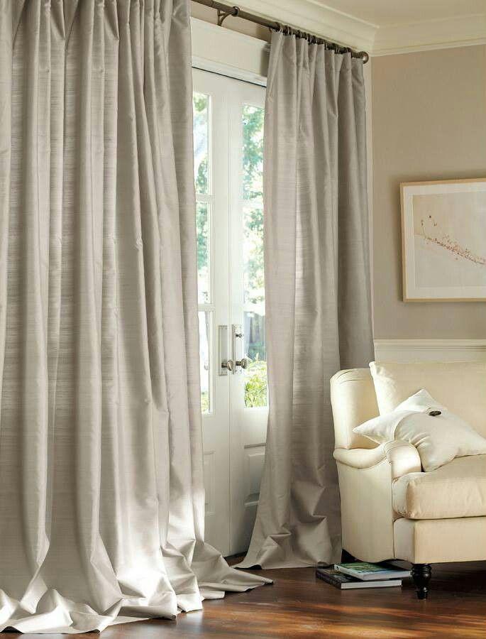 Drapes Via Pottery Barn Home Sweet Home Curtains Silk