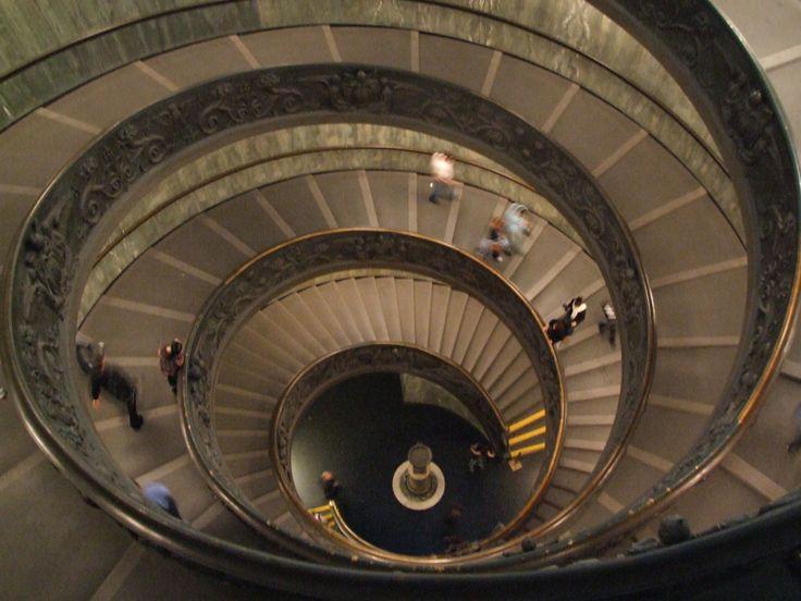Spiral Stairway In Vatican Museum - Vatican City