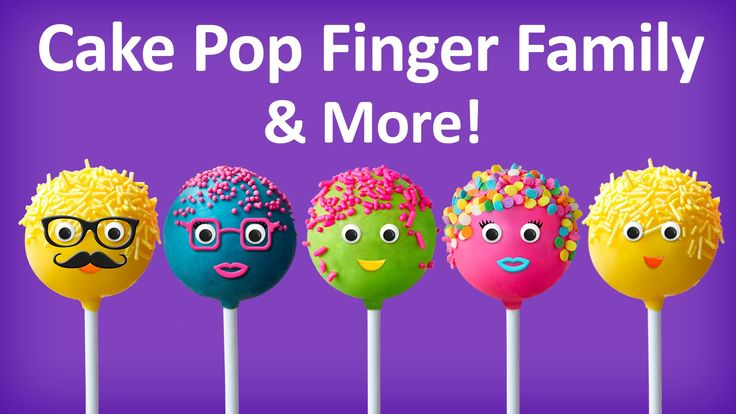 Cake Pop Finger Family Collection | Top 10 Finger Family Collection | Fi...