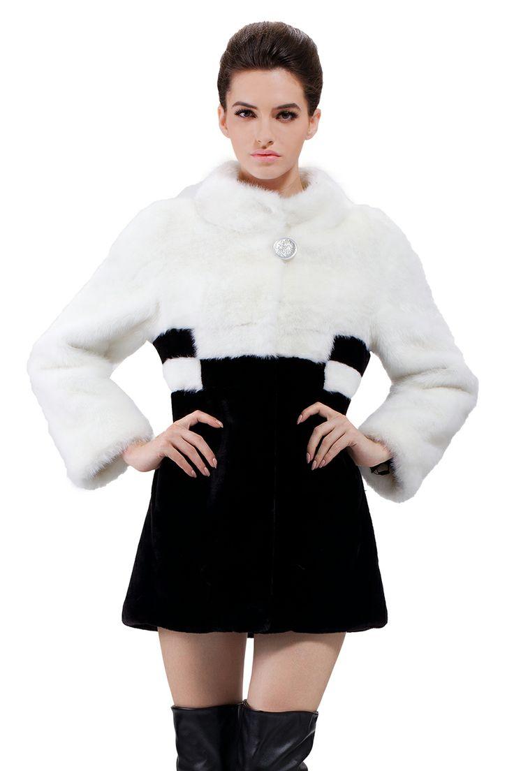 1000  images about Faux fur coat on Pinterest | Long fur coat