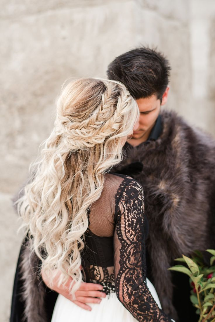 Smoky Game Of Thrones Wedding Inspiration In A Modern Day