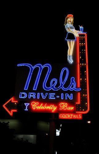 Mel's Diner #losangeles #restaurants #westhollywood