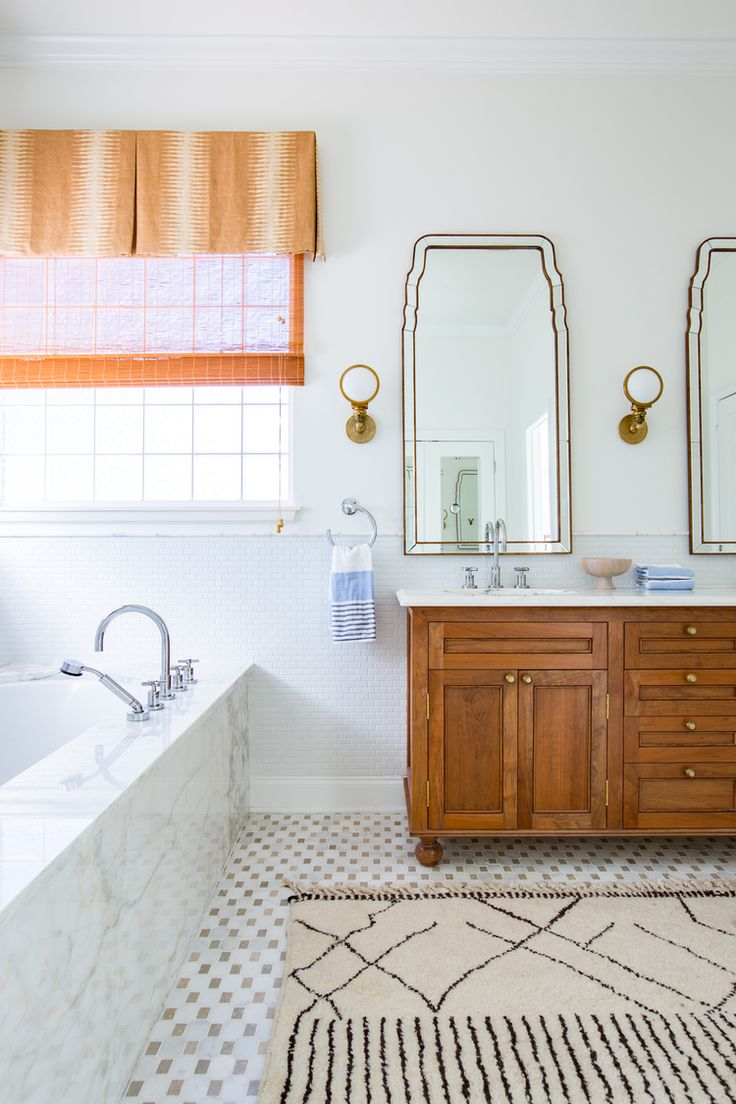 Bathroom vanities boston - Gorgeous Bathroom Details Via Logan Killen Interiors Boston Head Light Sconces By E F Chapman In