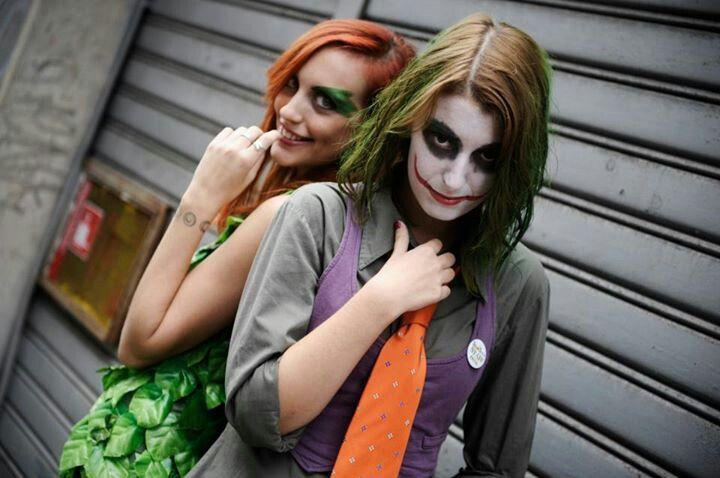 Joker girls and poison ivy
