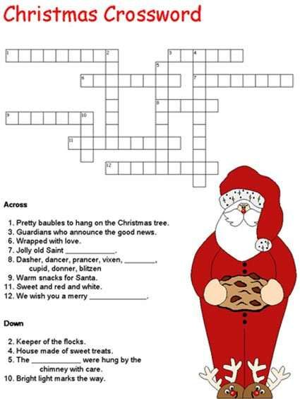 adult christmas puzzles and activities