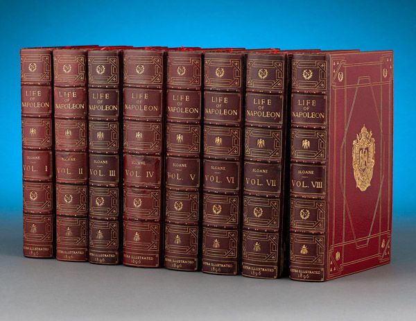First edition of Sloane's Life of Napoleon Bonaparte. This and more rare books for sale on CuratorsEye.com