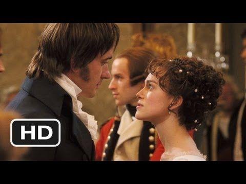 Pride & Prejudice 2005 movie clip - Elizabeth and Darcy's Dance.