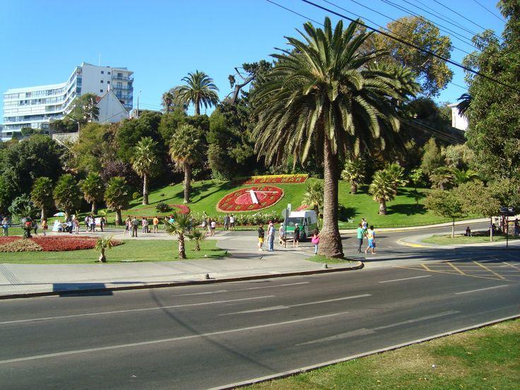 Reloj de Flores.   #ViñadelMar #Chile #HSM #HotelSanMartín #Turismo