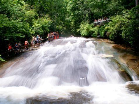 Sliding Rock - North Carolina : America's Secret Swimming Holes : TravelChannel.com