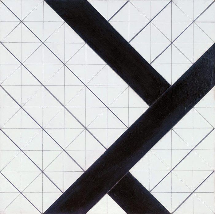 Theo van Doesburg: Counter Composition VI, 1925. #geometric #art