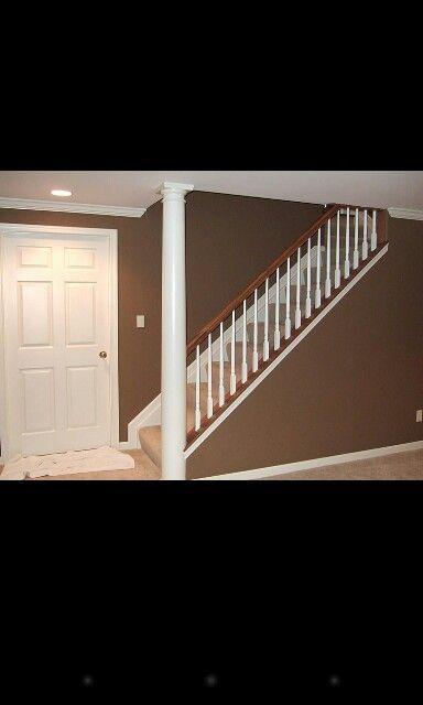 stair railing basement ideas pinterest basements