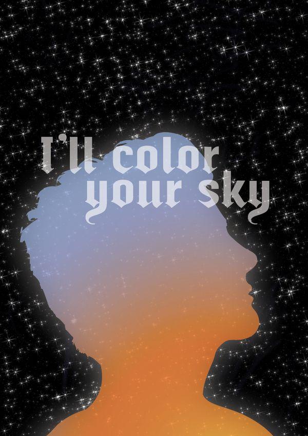 I'll color your sky by Alexandre Rivault, via Behance
