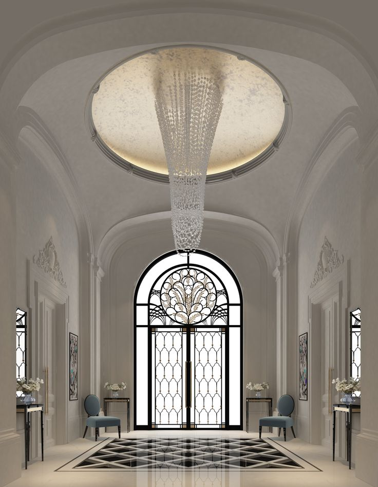 Luxury Interior Design For An Entrance Lobby