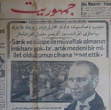 """Kazım Karabekir anlatıyor; """"10 Temmuz 1923 Ankara istasyonundaki kalem-i mahsus binasında Fırka nizamnamesini müzakereden sonra, Gazi ile yalnız kalarak hasbihallere başlamıştık. """"Dini ve nam…"""