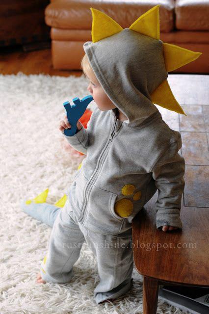 Rust & Sunshine - Dinosaur costume