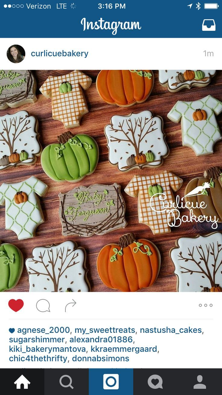 25 best ideas about Fall Decorated Cookies on Pinterest