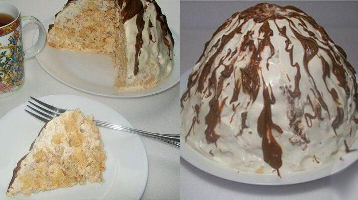 Торт «Панчо… ну очень ленивый» — без выпечки