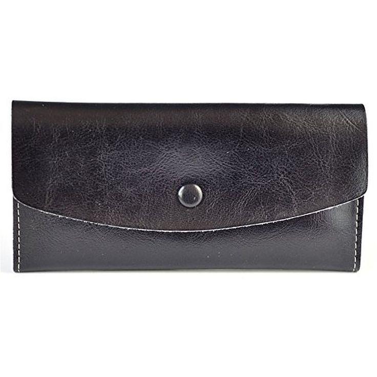 BEMAGSA Women's Leather Wristlet Wallet(PL-8186)