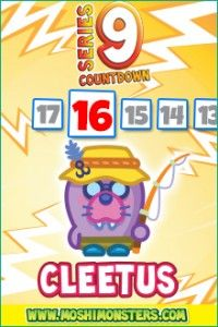 Intrigued by the new campaign run with Moshi Monsters to unveil Series 9 characters? Here is the second #Moshling your #kids will love - he is  Cleetus the Seal with a Reel.  http://londonmumsmagazine.com/2014/exclusive-moshi-monsters-new-series-9-character-2-unveiled-cleetus-the-seal-with-a-reel
