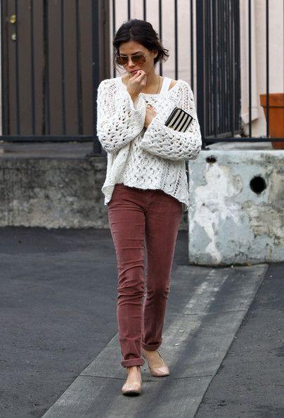 Gorgeous pants!  (This is Jenna Dewan-Tatum on Feb 7, 2012)