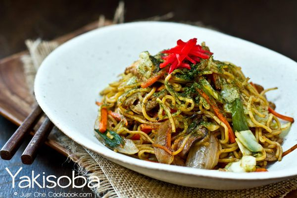 Yakisoba sauce recipe. I usually stir fry this sauce with cooked yakisoba noodles, carrots, onions, and cabbage.