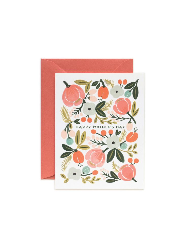 Rifle Paper Mother's Day Card